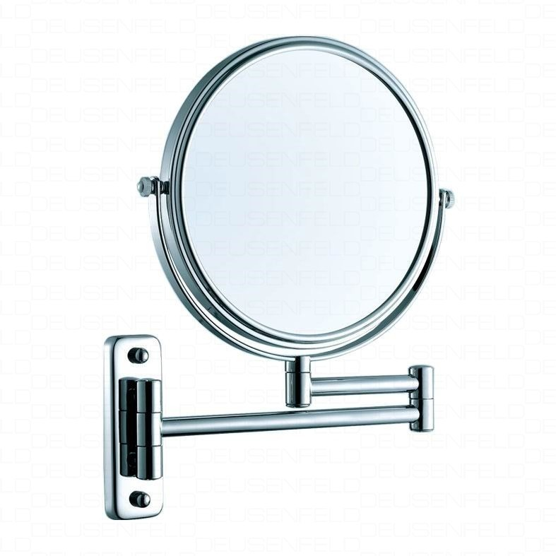 DEUSENFELD K5C  Doppel Wand Kosmetikspiegel 5x Vergrößerung