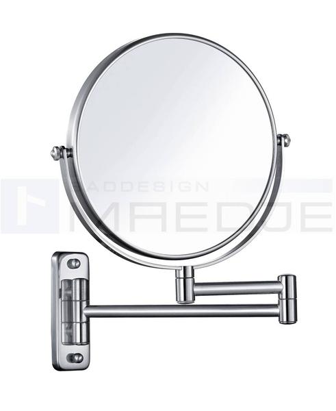 DEUSENFELD Wand Kosmetikspiegel, 7  Fach Vergrößerung, 20cm