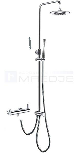 deusenfeld design aufputz duschsystem q10 inkl kopf und handbrause massiv einhebelmischer q10. Black Bedroom Furniture Sets. Home Design Ideas