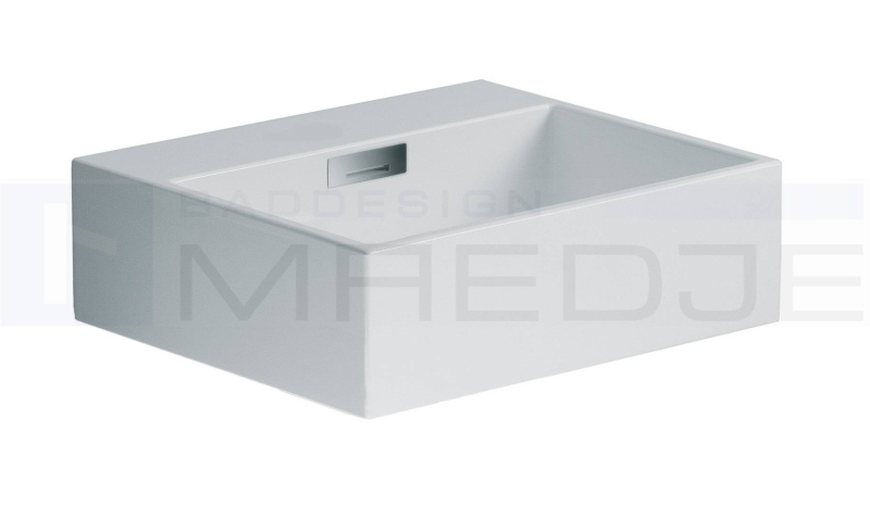 design waschtisch quarelo 42x36cm ohne hahnloch wei. Black Bedroom Furniture Sets. Home Design Ideas