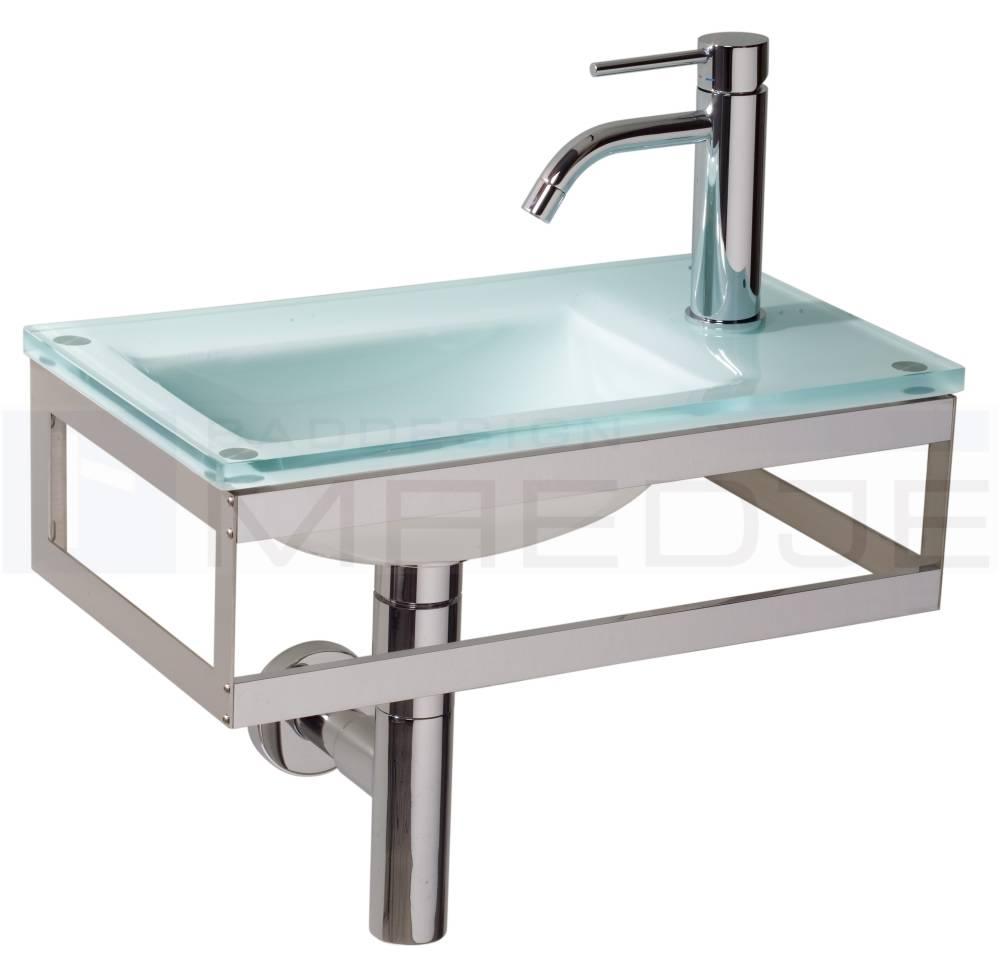 design g ste glas waschtisch pocia 45x26cm green ice. Black Bedroom Furniture Sets. Home Design Ideas