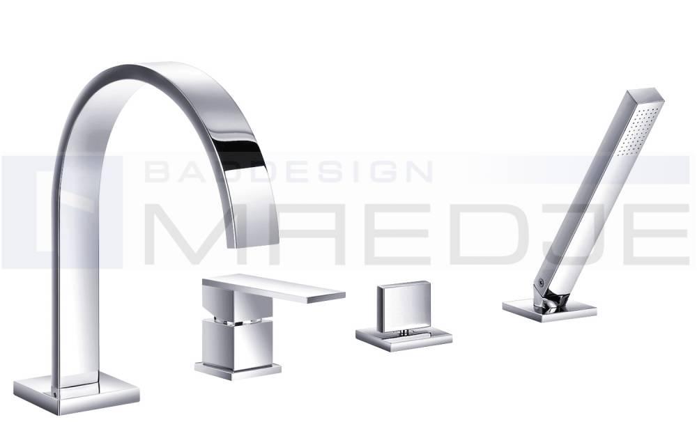 badewannenarmatur wasserfall 4 loch raum und m beldesign. Black Bedroom Furniture Sets. Home Design Ideas