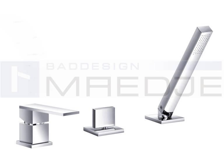deusenfeld designer 3 loch 1 hebel wannenrand armatur. Black Bedroom Furniture Sets. Home Design Ideas