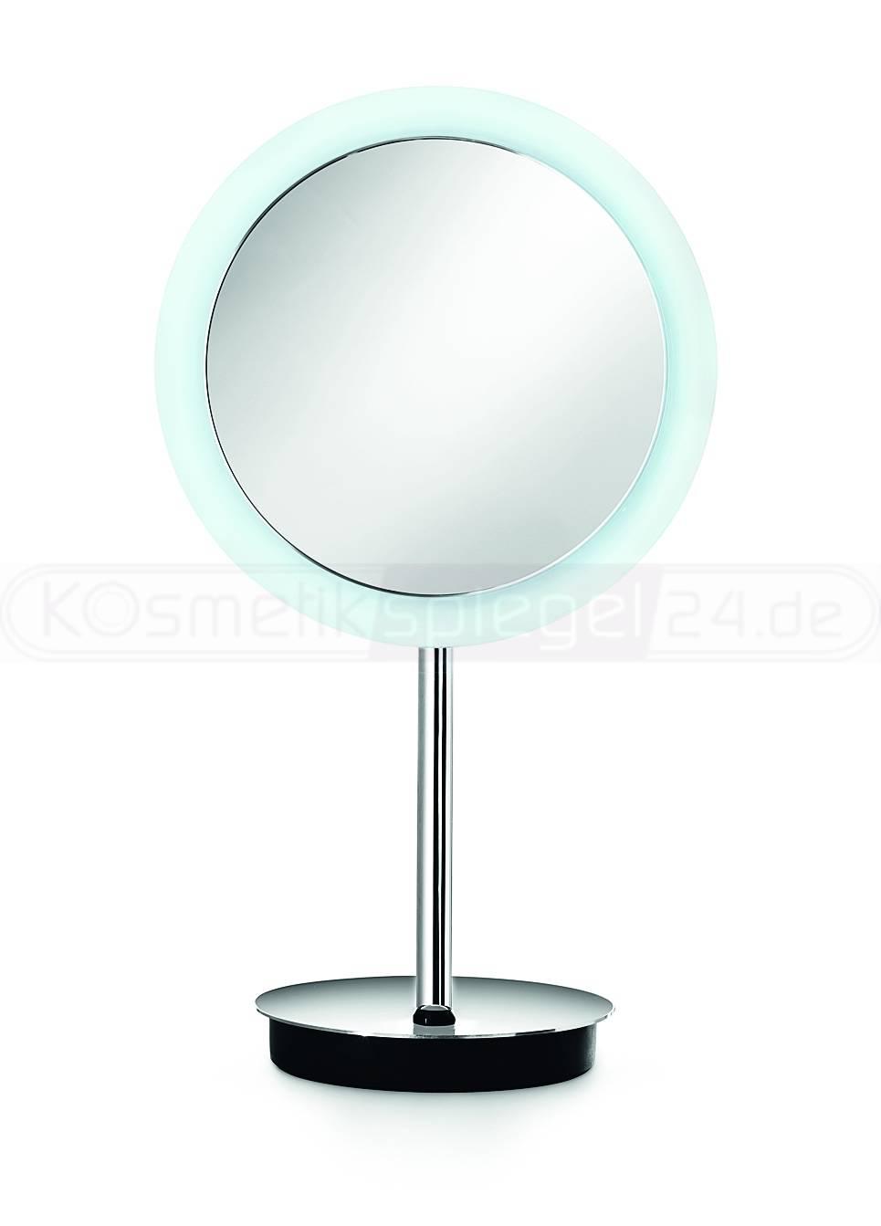 design stand led kosmetikspiegel 23cm 3 fach vergr erung wirkt wie 5 fach 230 volt sehr hell. Black Bedroom Furniture Sets. Home Design Ideas