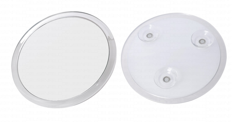 deusenfeld sks175 design acryl saugnapf kosmetikspiegel vergr erungsspiegel 16 7cm 5 fach. Black Bedroom Furniture Sets. Home Design Ideas