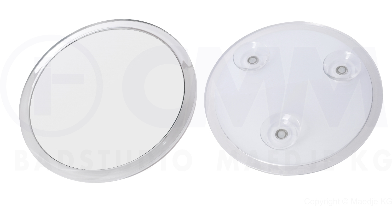 deusenfeld sks107 design acryl saugnapf kosmetikspiegel vergr erungsspiegel 10cm 7 fach. Black Bedroom Furniture Sets. Home Design Ideas
