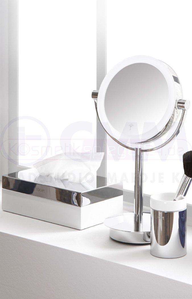 joop living stand batterie doppel led kosmetikspiegel 5 fach und normal 10 min off timer hell. Black Bedroom Furniture Sets. Home Design Ideas