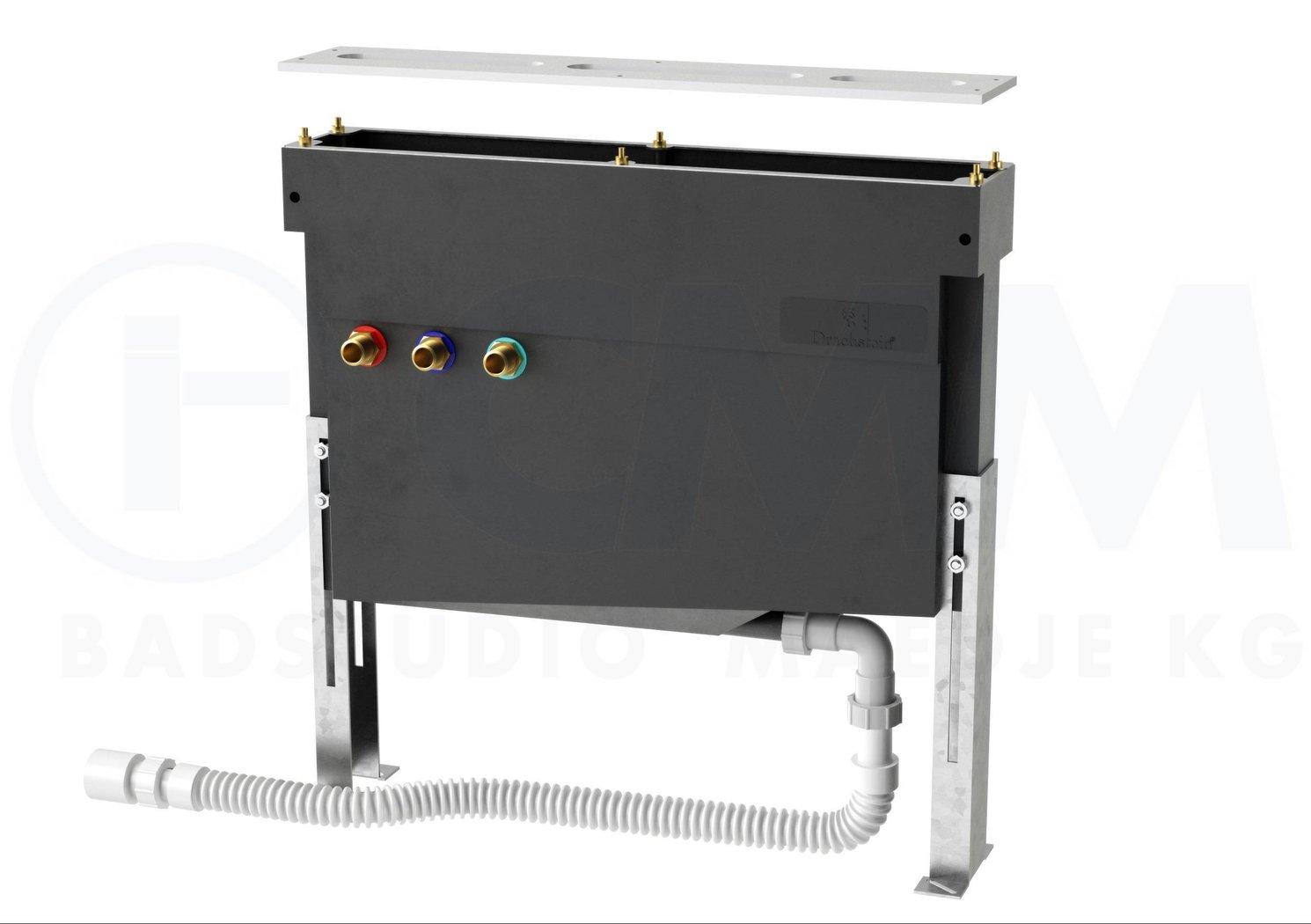 Ds wannenrand montagesystem deluxe f r wannenrandarmaturen drainage h henverstellbar - Mgs armaturen ...