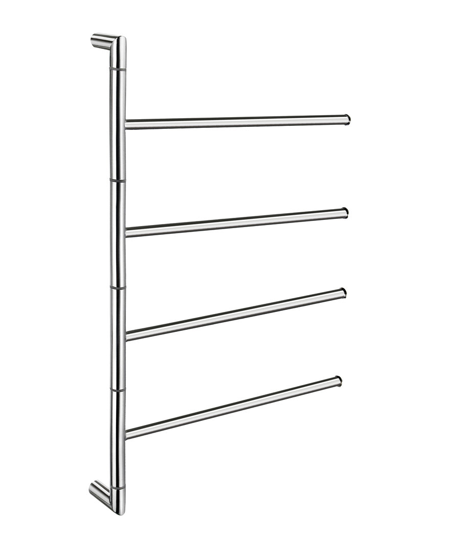 Primo 12 Mitered Wall Mounted Towel Bar by Preferred Bath