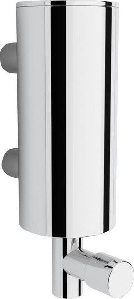 design wand seifenspender aus verchromten edelstahl. Black Bedroom Furniture Sets. Home Design Ideas