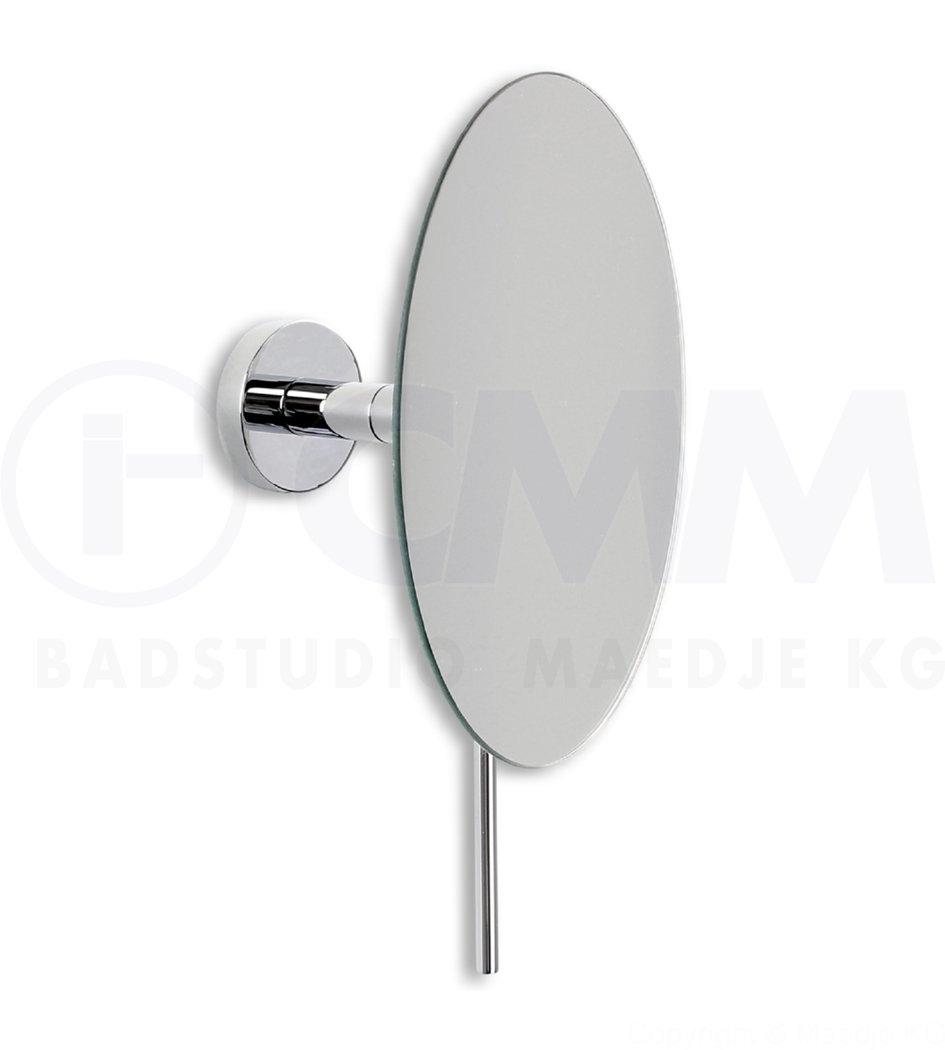 deusenfeld design wand kosmetikspiegel round 5 fach einseitig kugelgelenk ebay. Black Bedroom Furniture Sets. Home Design Ideas