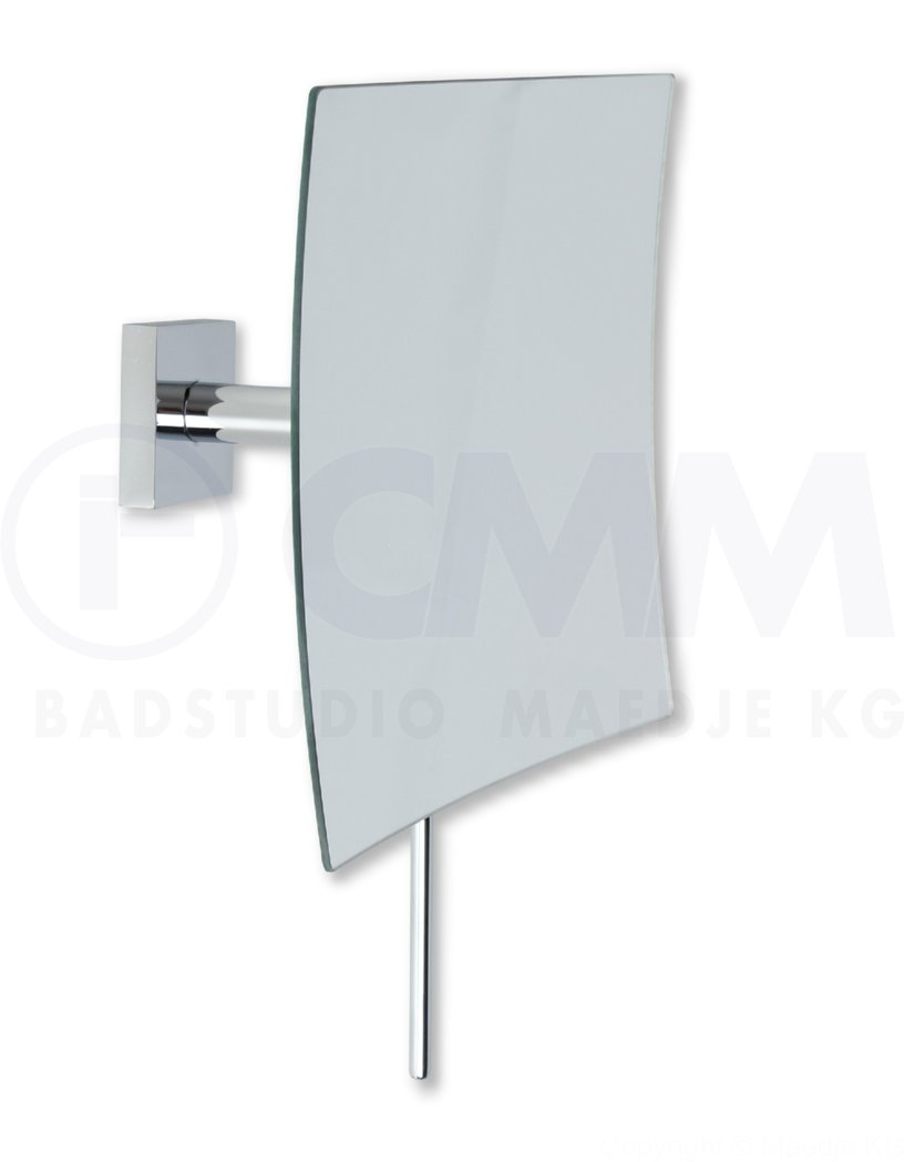 deusenfeld design wand kosmetikspiegel quadro 5 fach einseitig kugelgelenk ebay. Black Bedroom Furniture Sets. Home Design Ideas