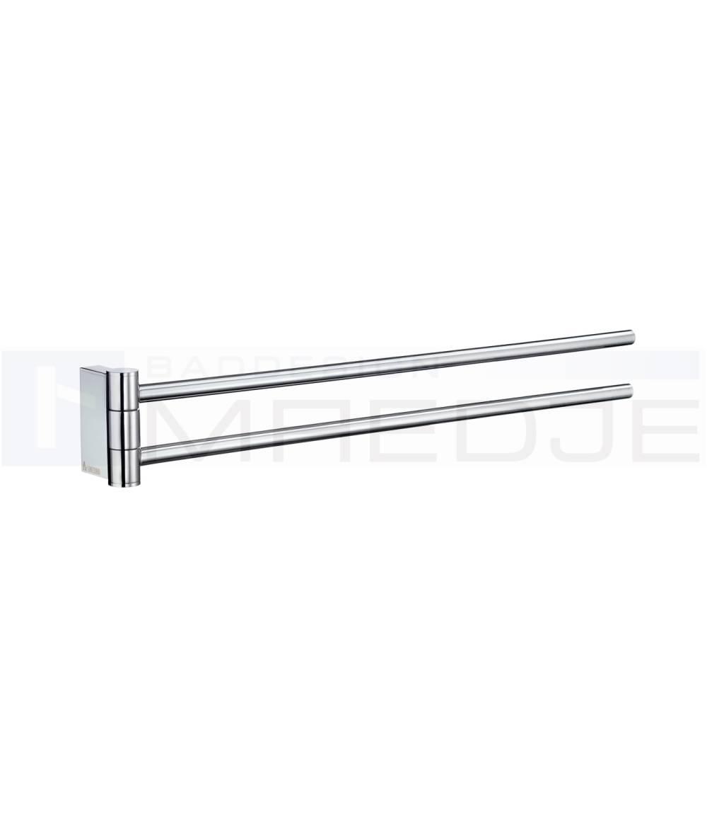 Design handtuchhalter air 2 armig schwenkbar aus for Handtuchhalter design