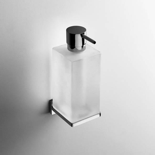 designer wand seifenspender look eckig quadro. Black Bedroom Furniture Sets. Home Design Ideas