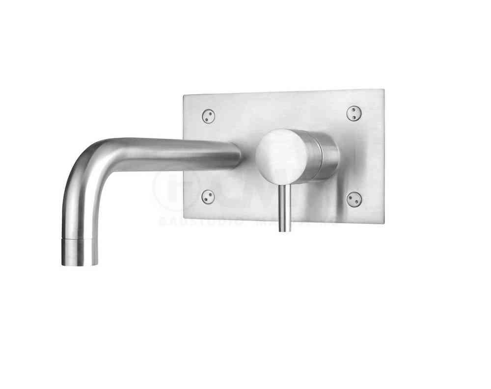 Deusenfeld Unterputz Edelstahl Waschtisch Armatur Design M8