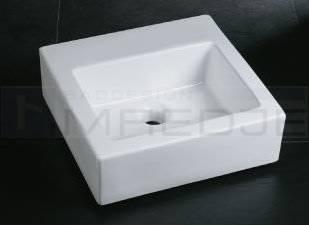 Design Mini Gastewaschbecken Waschtisch Quadro 40 Weiss Ohne