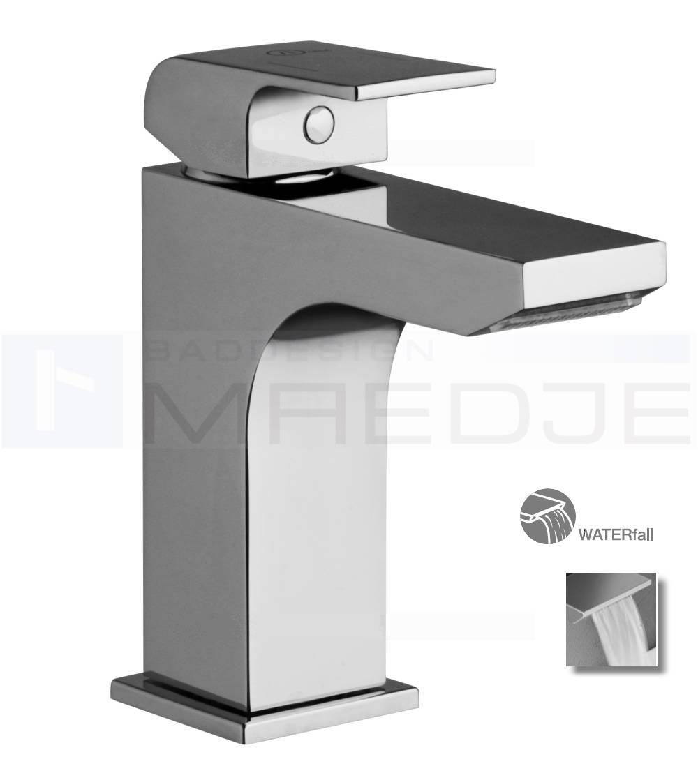 Designer waschtisch armatur quadro schwall wasserfall - Armatur wasserfall ...