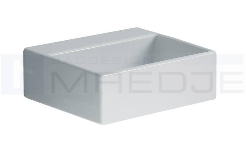 Waschbecken eckig ohne hahnloch  Design Mini Gäste Waschtisch