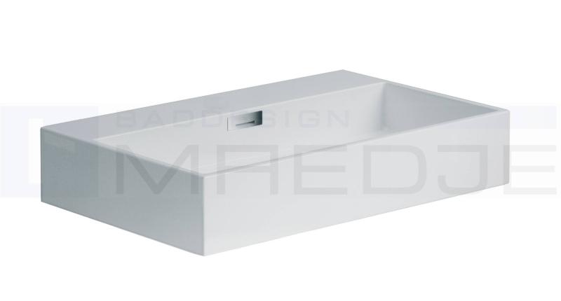 design waschtisch quarelo 70x42cm ohne hahnloch wei. Black Bedroom Furniture Sets. Home Design Ideas