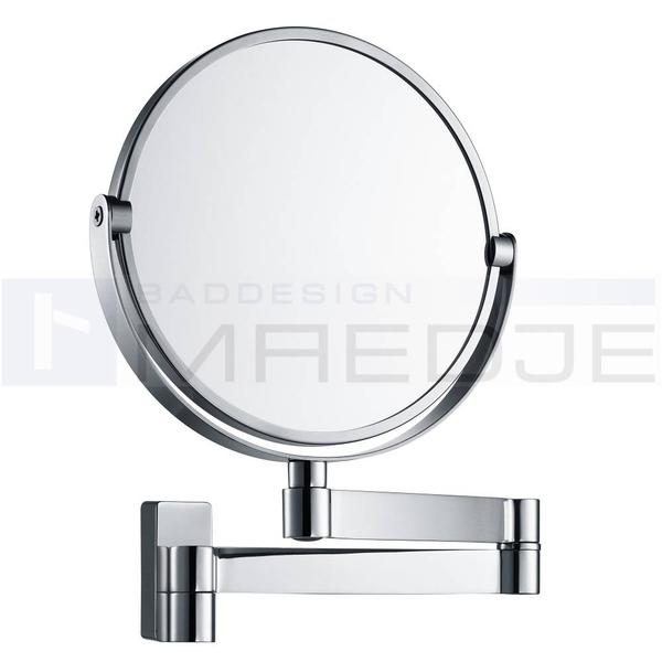 Relativ Design Edelstahl Wand Kosmetikspiegel, 5 - Fach Vergrößerung und CZ44