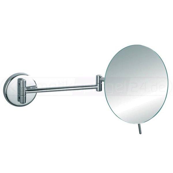 deusenfeld wand kosmetikspiegel zero 5 fach vergr erung einseitig 20cm verchromt. Black Bedroom Furniture Sets. Home Design Ideas