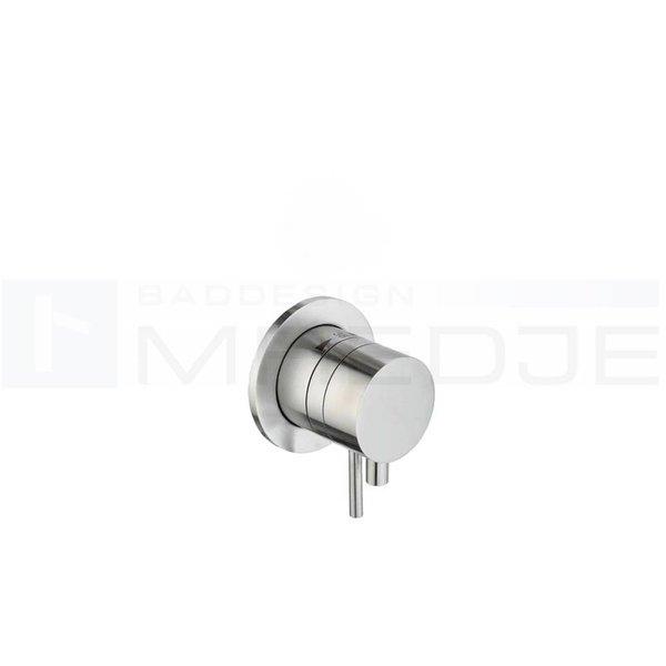 Hervorragend DEUSENFELD designer EDELSTAHL Brause / Wannen Unterputz Thermostat FF03