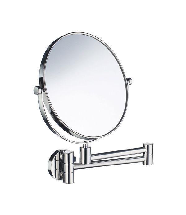 Turbo Design Wand Kosmetikspiegel 5-Fach Vergrößerung, 20cm, verchromt TN37