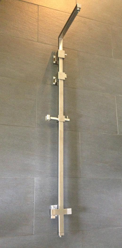 """Einzigartig Edelstahl Duschsystem Quadro """"Q11"""", matt gebürstet, schwere  VK47"""
