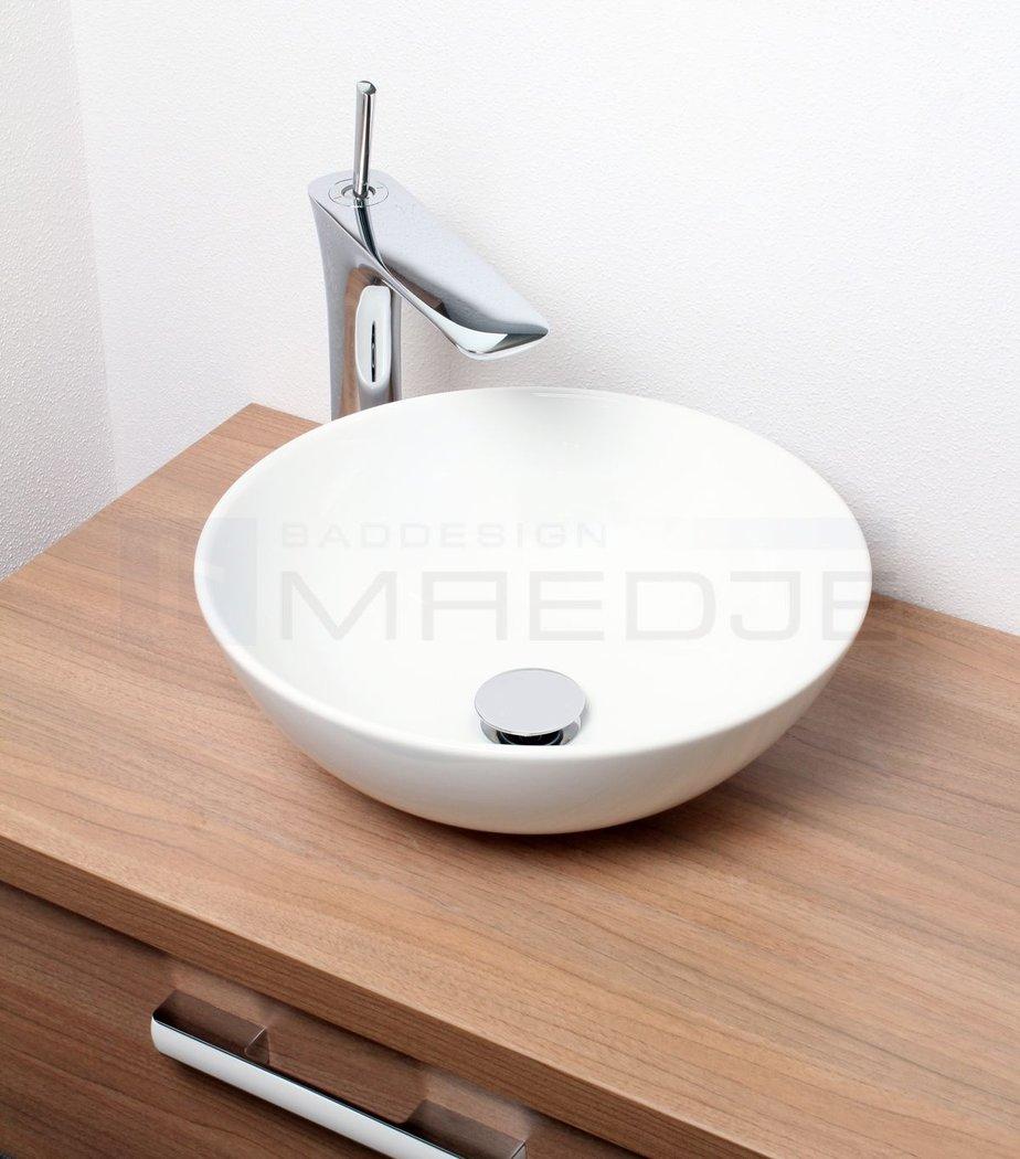 design waschschale aufsatzbecken jump 40 wei 40cm. Black Bedroom Furniture Sets. Home Design Ideas