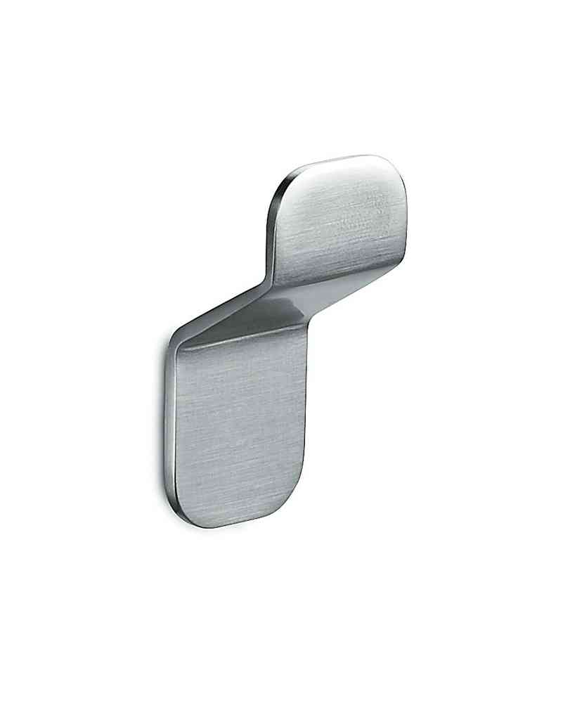 "Design Edelstahl Handtuchhalter ""OVER"" Handtuchhaken matt gebürstet KEIN BOHREN 3M™ Klebefolie"