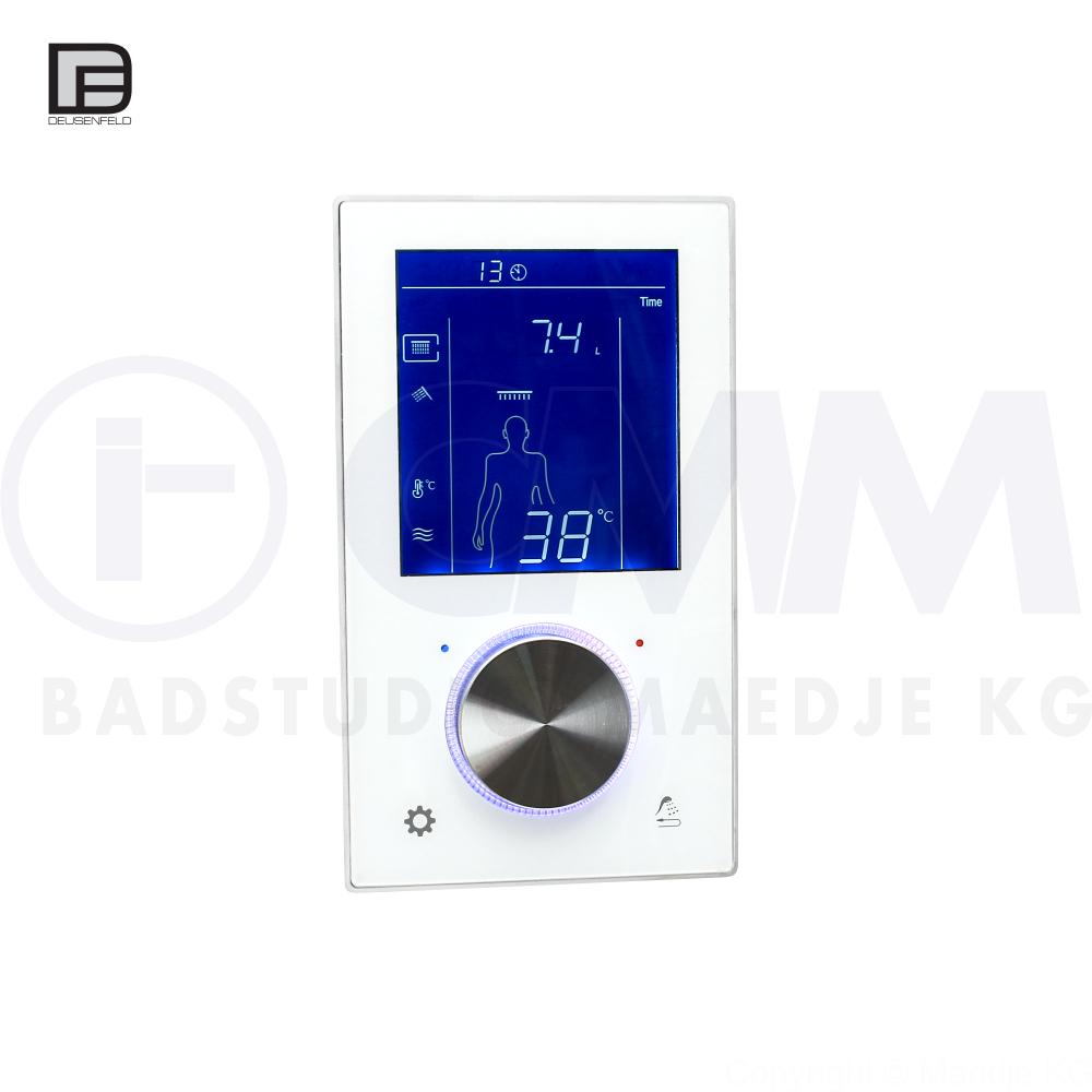 Hervorragend DEUSENFELD Unterputz Digital Thermostat Armatur mit 2 Wege BI39