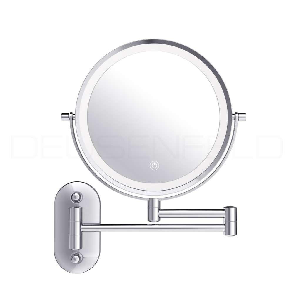 LED Schminkspiegel Make up Spiegel Kosmetikspiegel Beleuchtung 10-fach Vergrößer